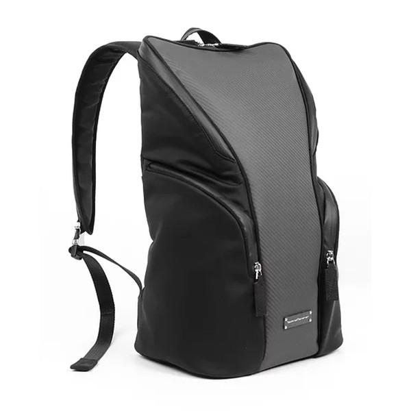 TecknoMonster - Zangolo Backpack in Carbon Fiber and Alcantara® - Black Carpet Collection