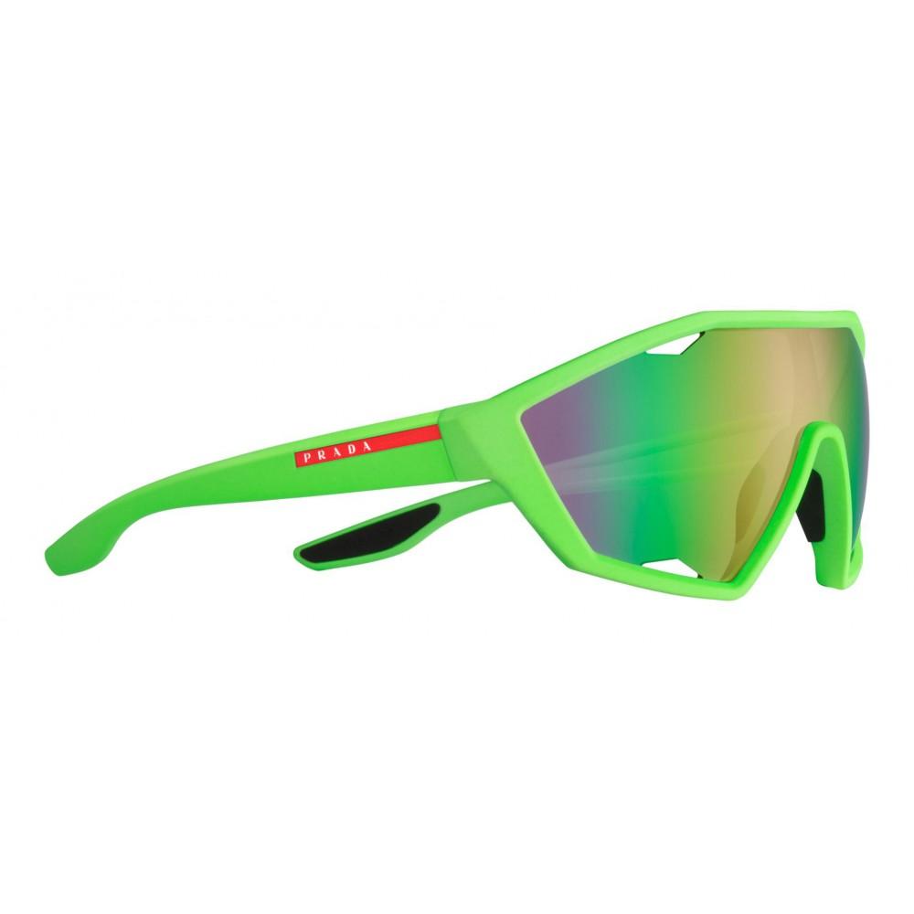 9be64e3ef762 ... Prada - Prada Linea Rossa Collection - Contemporary Sunglasses - Green  - Prada Collection - Sunglasses ...