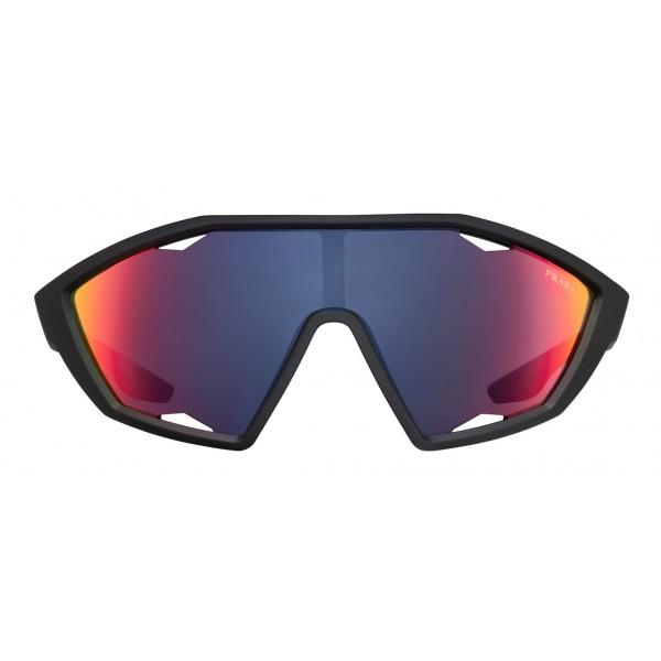 a2494e4a5e5b Prada - Prada Linea Rossa Collection - Contemporary Sunglasses - Black - Prada  Collection - Sunglasses - Prada Eyewear - Avvenice