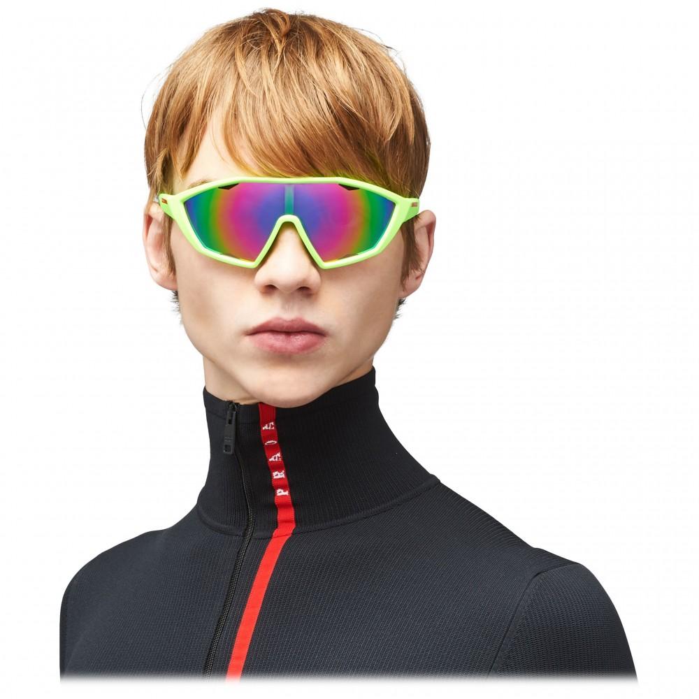 d17b46c76df6 ... Prada - Prada Linea Rossa Collection - Contemporary Sunglasses - Green  - Prada Collection - Sunglasses