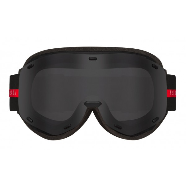 Prada - Prada Linea Rossa Collection - Maschera da Sci - Nero - Prada Collection - Prada Eyewear