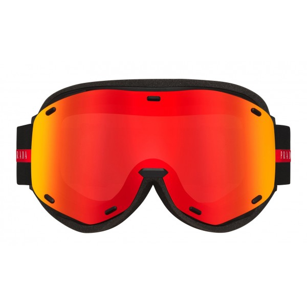 Prada - Prada Linea Rossa Collection - Maschera da Sci - Rossa - Prada Collection - Prada Eyewear
