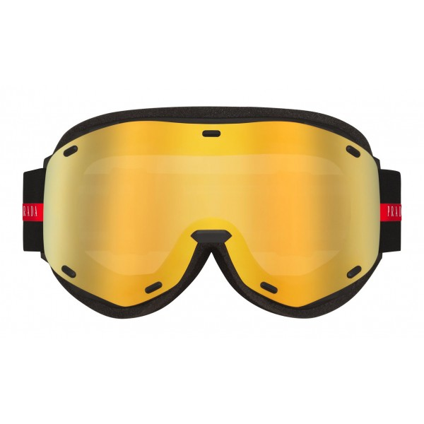 Prada - Prada Linea Rossa Collection - Maschera da Sci - Gialla - Prada Collection - Prada Eyewear