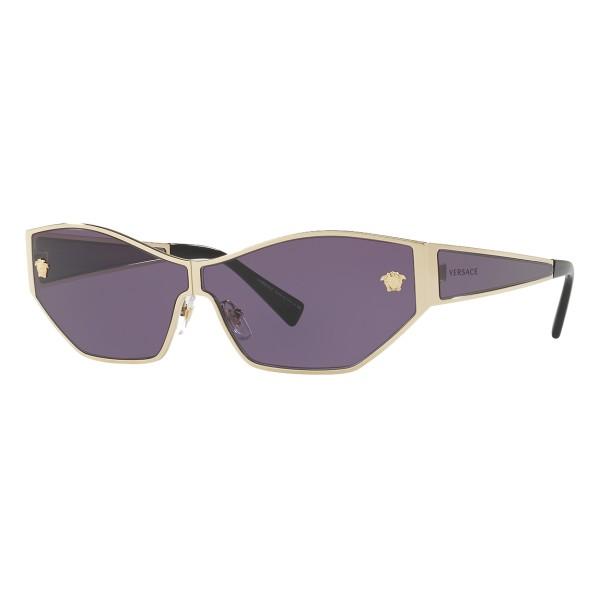 Versace - Occhiale da Sole Medusa Aspis - Viola - Occhiali da Sole - Versace Eyewear