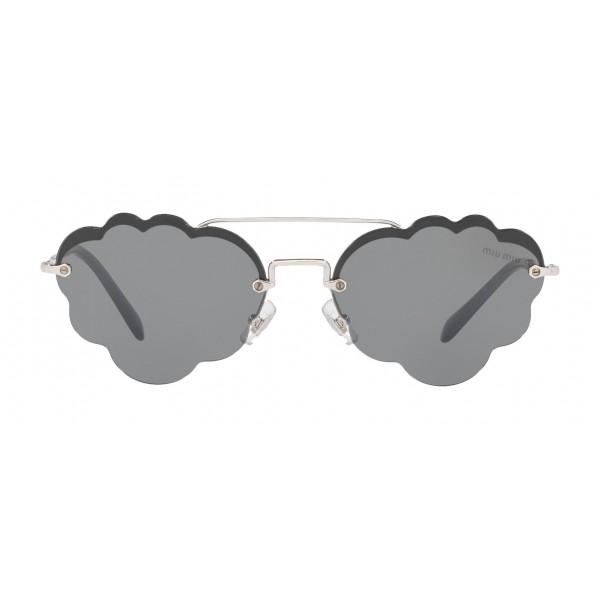 Miu Miu - Occhiali Miu Miu Noir - Cat Eye Nuvola - Neri - Occhiali da Sole - Miu Miu Eyewear
