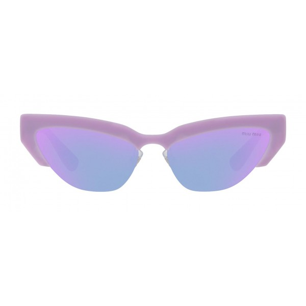 Miu Miu - Miu Miu Catwalk Sunglasses - Cat Eye - Periwinkle Rose - Sunglasses - Miu Miu Eyewear