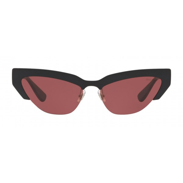 Miu Miu - Miu Miu Catwalk Sunglasses - Cat Eye - Amarena - Sunglasses - Miu Miu Eyewear