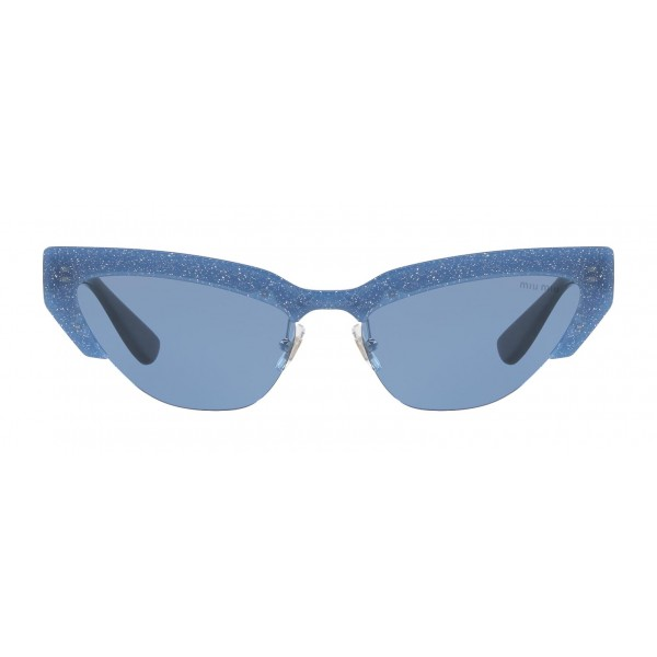 Miu Miu - Miu Miu Catwalk Sunglasses - Cat Eye - Petunia - Sunglasses - Miu Miu Eyewear