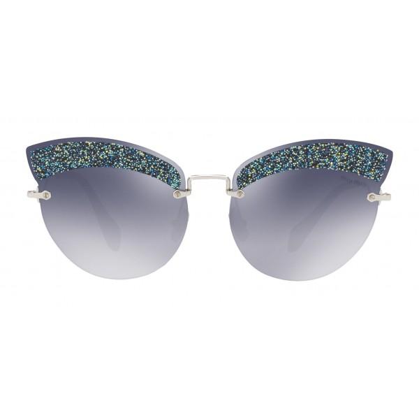 f65fd60d4 Miu Miu - Miu Miu Noir with Glitter Sunglasses - Cat Eye - Divisa Gradient -