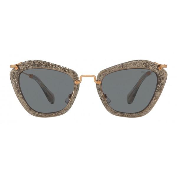 ef7493ccd285 Miu Miu - Miu Miu Noir with Glitter Sunglasses - Cat Eye - Coal - Sunglasses  - Miu Miu Eyewear - Avvenice