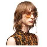 Miu Miu - Chain for Glasses Miu Miu - Gold - Sunglasses - Miu Miu Eyewear