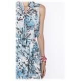 Leda Di Marti - Camicia Gange - Stampa Oceano - Haute Couture Made in Italy - Abito di Alta Qualità Luxury
