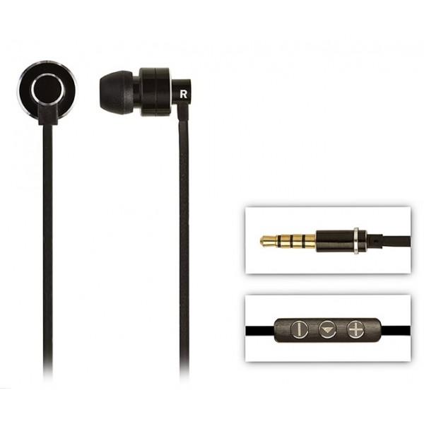 2 ME Style - Auricolari In-Ear Alluminio Nero