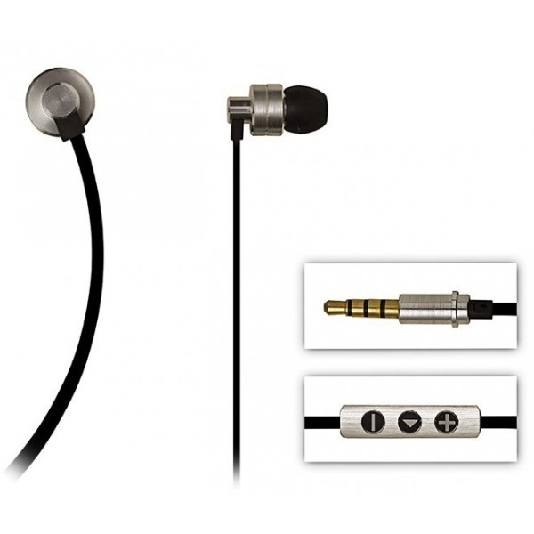 2 ME Style - Earphones In-Ear Aluminium