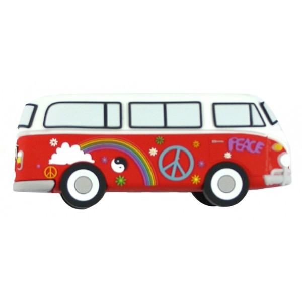Moji Power - Hippie Van - High Capacity Portable Power Bank Emoji Icon USB Charger - Portable Batteries - 2600 mAh