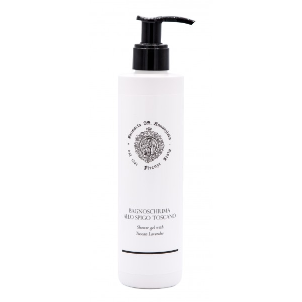 Farmacia SS. Annunziata 1561 - Shower Gel with Tuscan Lavender - Formulation Rich in Trace Elements