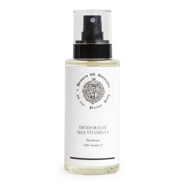 Farmacia SS. Annunziata 1561 - Deodorante alla Vitamina E (Analcolico) - Azione Antiossidante - Proprietà Emollienti
