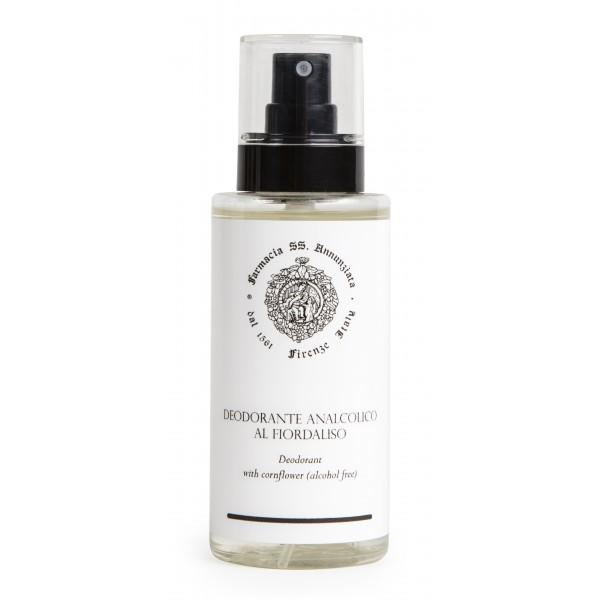 Farmacia SS. Annunziata 1561 - Deodorante Analcolico al Fiordaliso - Soluzione Spray Ecologica - Azione Antisettica