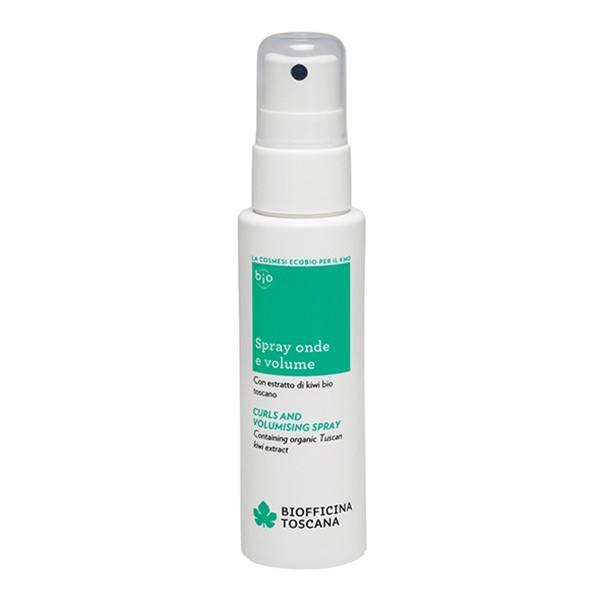 Biofficina Toscana - Spray Onde e Volume - Linea Cura Capelli e Styling - Cosmetici Bio Vegan