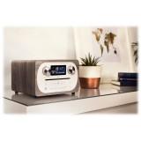 Pure - Evoke C-D4 - Quercia Grigia - Sistema Musicale Compatto All-in-One con Bluetooth - Radio Digitale di Alta Qualità