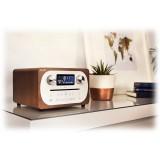 Pure - Evoke C-D4 - Noce - Sistema Musicale Compatto All-in-One con Bluetooth - Radio Digitale di Alta Qualità