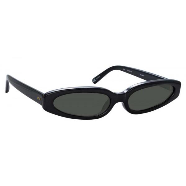 26de34c9b Linda Farrow - 960 C1 Angular Sunglasses - Black - Linda Farrow Eyewear -  Kendall Jenner