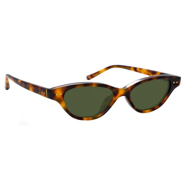 6bb511c31b Linda Farrow - 965 C2 Cat Eye Sunglasses - Tortoiseshell - Linda Farrow  Eyewear - Avvenice