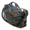 Garage par Reveil - Sharon Bag - Borsa in Pitone - Nero - Handmade in Italy - Accessorio di Alta Qualità Luxury