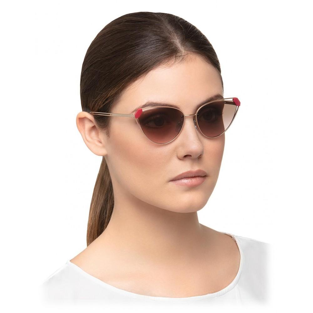 d9f4aabce4 ... Bulgari - Candy Scale - Serpenti Sunglasses - Gold - Serpenti  Collection - Sunglasses - Bulgari