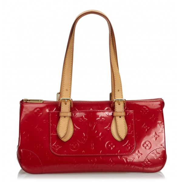 Louis Vuitton Vintage - Vernis Rosewood Bag - Rossa - Borsa in Pelle Vernis - Alta Qualità Luxury