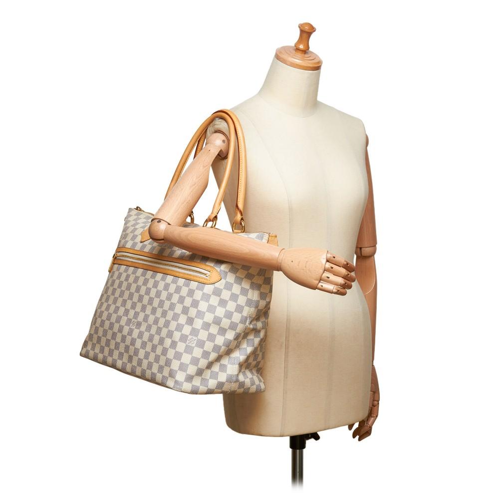 Louis Vuitton Vintage - Damier Azure Saleya GM Bag ...