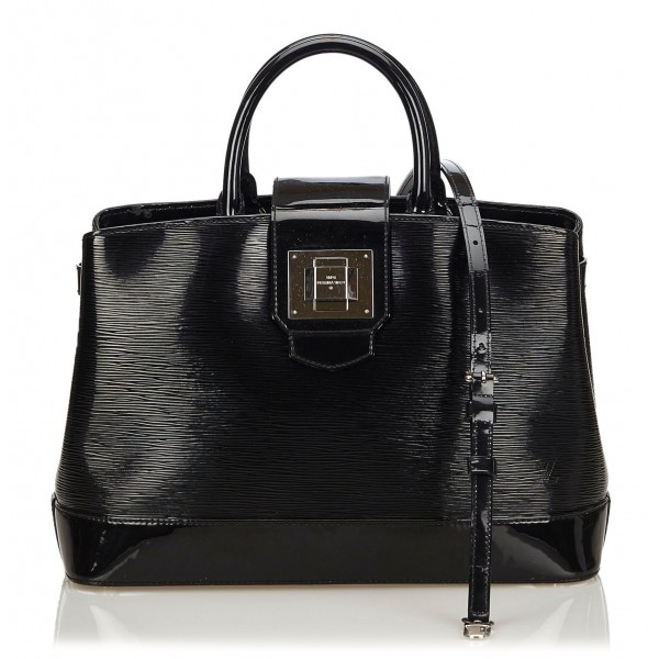 Louis Vuitton Vintage - Electric Mirabeau GM Bag - Black - Leather and Epi Leather Handbag - Luxury High Quality