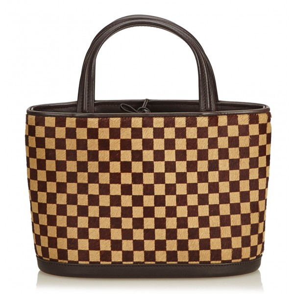 Louis Vuitton Vintage - Damier Sauvage Impala Bag - Marrone - Borsa in Pelle e Tela Monogramma - Alta Qualità Luxury