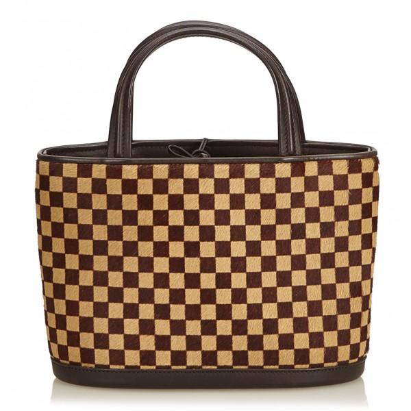 codice promozionale 34aa5 ff64b Louis Vuitton Vintage - Damier Sauvage Impala Bag - Brown - Monogram Canvas  and Leather Handbag - Luxury High Quality