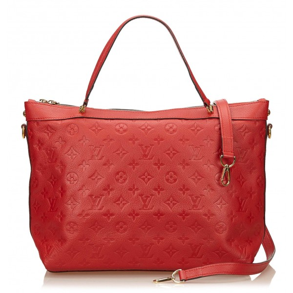 Louis Vuitton Vintage - Bastille MM Bag - Red - Leather Handbag - Luxury High Quality