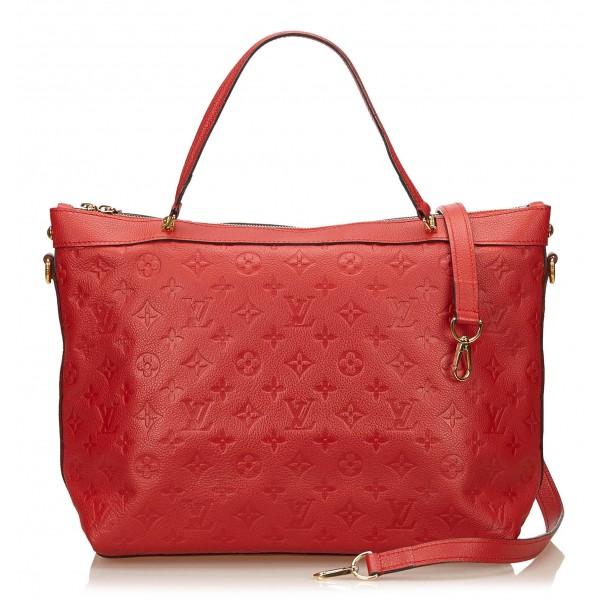 861f1cc09b05 Louis Vuitton Vintage - Bastille MM Bag - Red - Leather Handbag - Luxury  High Quality