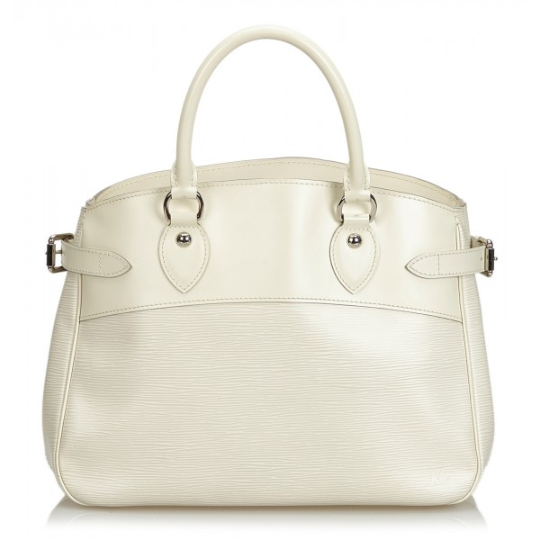 Louis Vuitton Vintage - Passy PM Bag - White Ivory - Leather and Epi Leather Handbag - Luxury High Quality