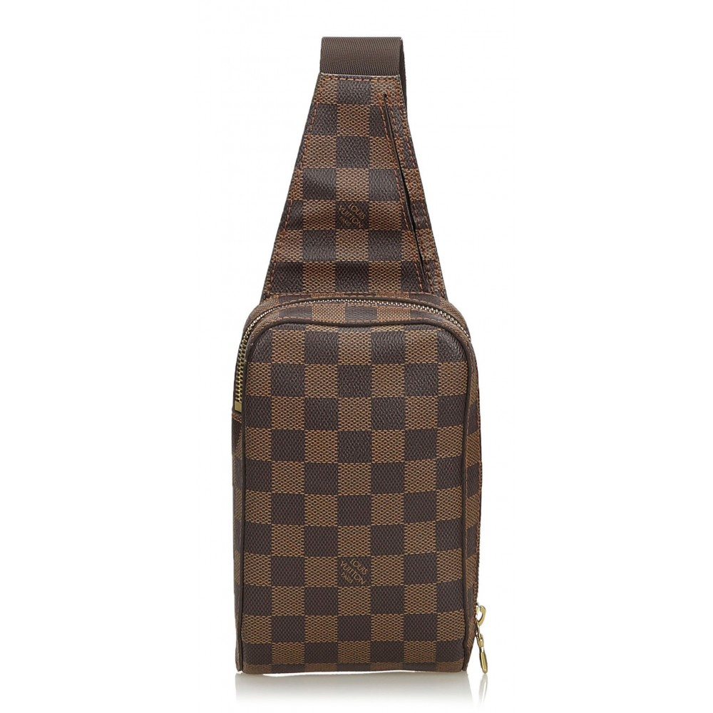 Louis Vuitton Vintage - Damier Ebene Geronimos Bag ...