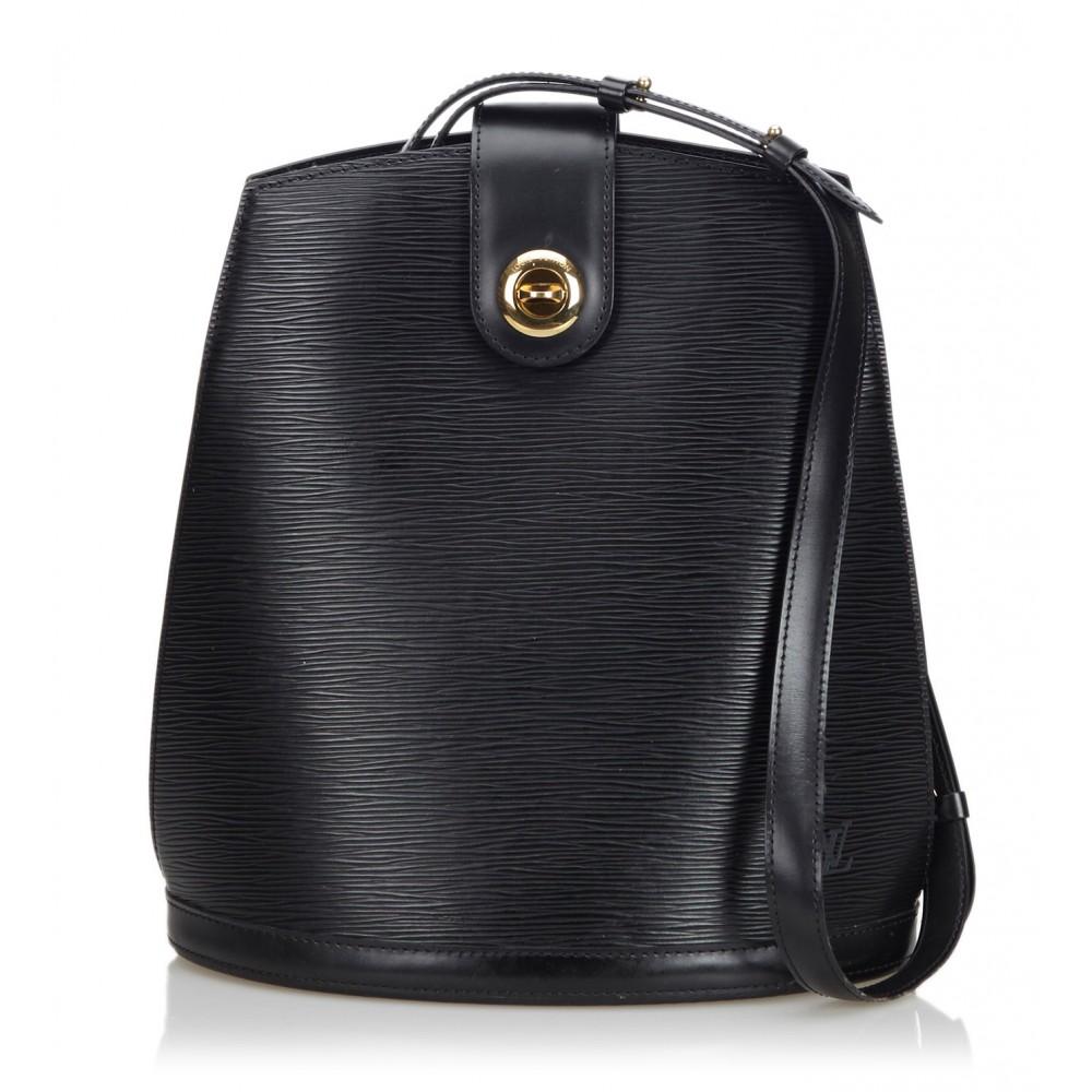 Louis Vuitton Vintage - Epi Cluny Bag - Nera - Borsa in ...