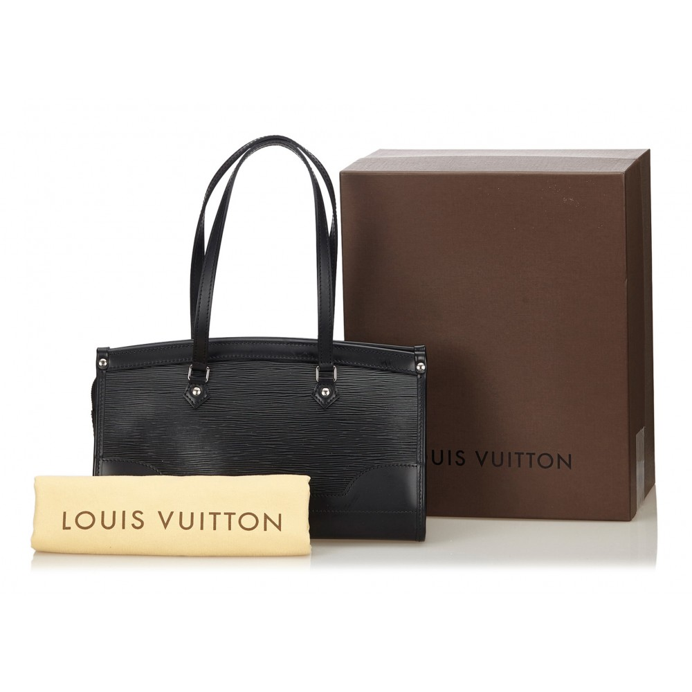 Louis Vuitton Vintage - Epi Madeleine PM Bag - Nera ...