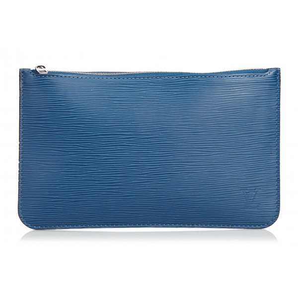 Louis Vuitton Vintage - Epi Pouch - Blue - Leather and Epi Leather Pouch -  Luxury High Quality