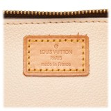 Louis Vuitton Vintage - Monogram Trousse Blush PM Pouch - Brown - Leather and Monogram Leather Pouch - Luxury High Quality
