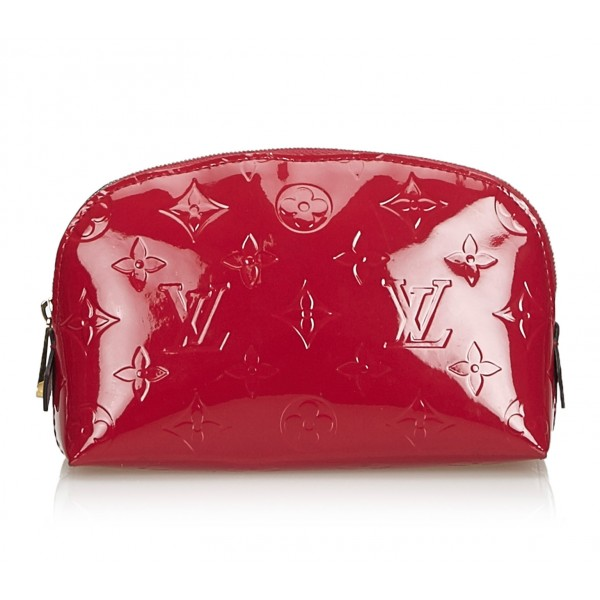 Louis Vuitton Vintage - Vernis Leather Cosmetic Pouch - Red - Vernis Leather Pouch - Luxury High Quality