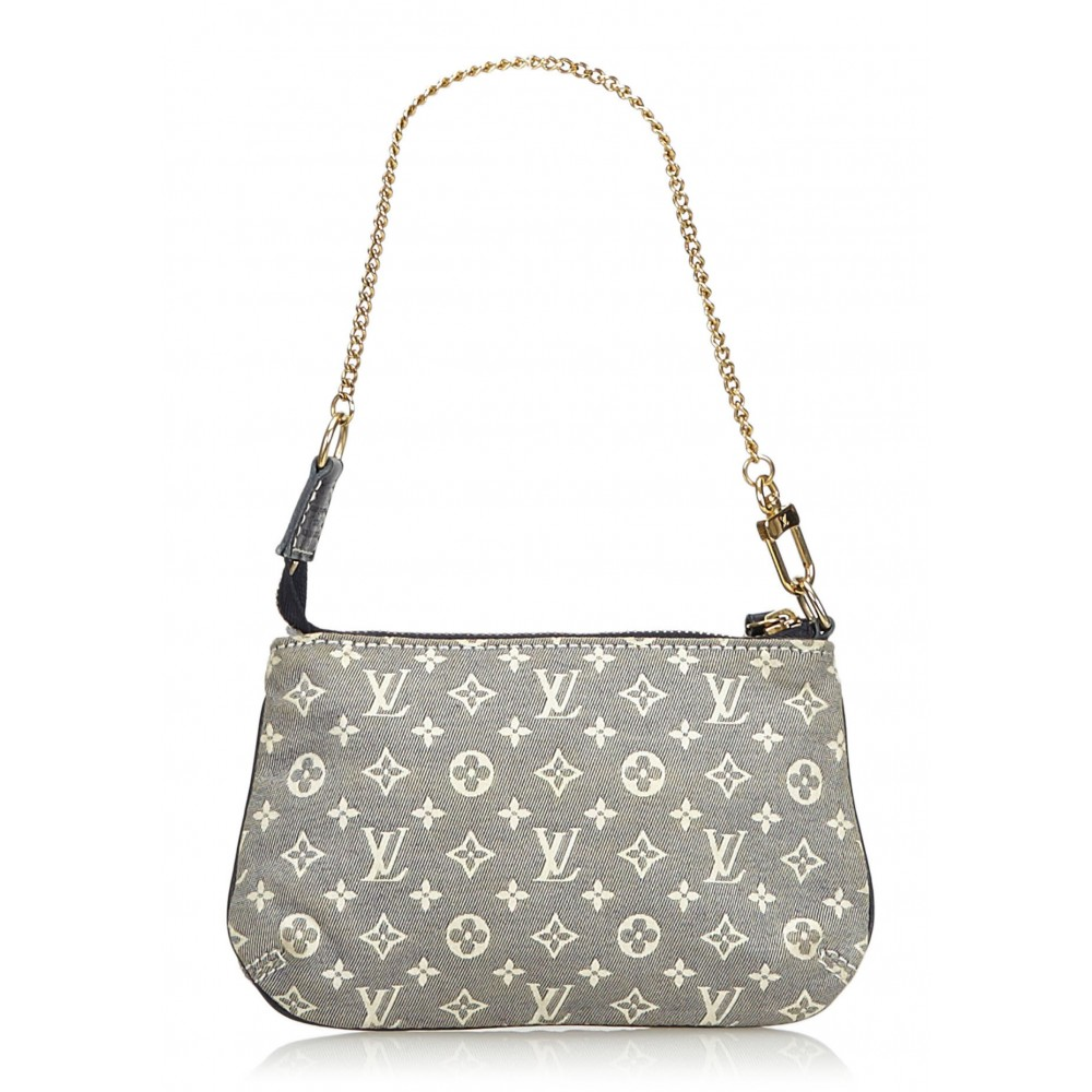 Louis Vuitton Vintage - Monogram Mini Lin Pochette Bag ...