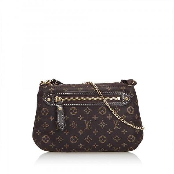 bc323fe8b1 Louis Vuitton Vintage - Monogram Mini Lin Pochette Bag - Nera - Borsa in  Pelle Monogramma