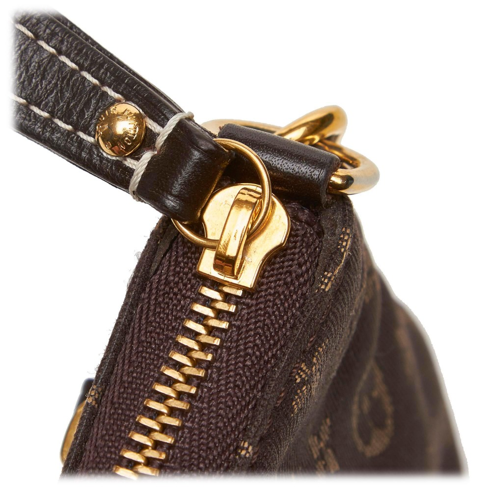 Louis Vuitton Vintage - Monogram Mini Lin Pochette Bag ...