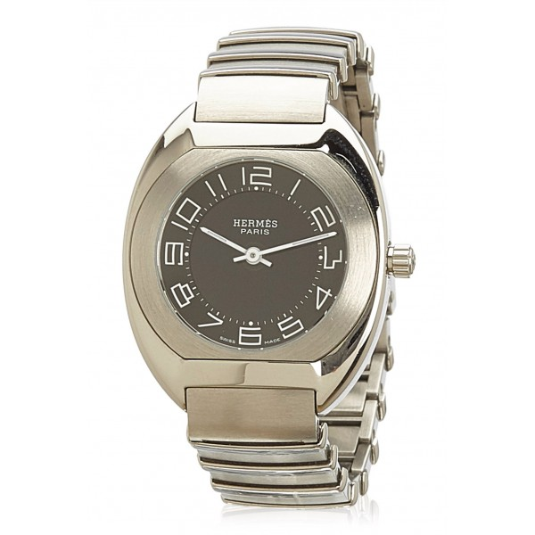 Hermès Vintage - Espace ES 1.210 Ladies Watch - Silver - Stainless Steel Watch - Luxury High Quality
