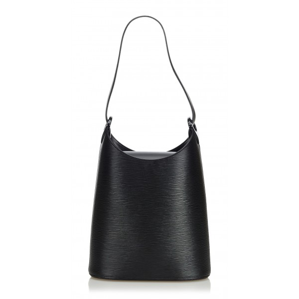 Louis Vuitton Vintage - Epi Sac Verseau Bag - Black - Leather and Epi  Leather Handbag - Luxury High Quality