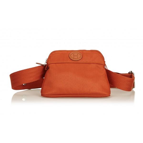 Hermès Vintage - Bolide Ceinture Balle de Golf Belt Bag - Arancione - Marsupio in Tessuto e Cotone - Alta Qualità Luxury