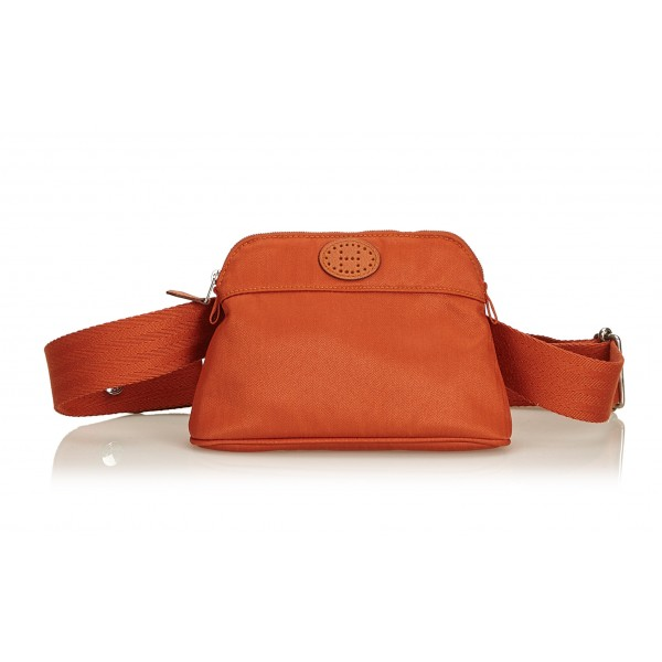 Hermès Vintage - Bolide Ceinture Balle de Golf Belt Bag - Orange - Fabric and Cotton Balt Bag - Luxury High Quality